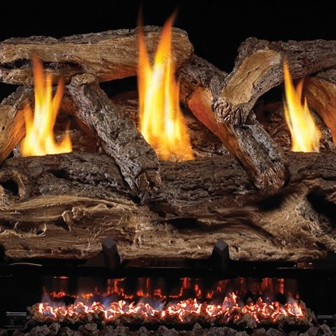 Vent-free Gas Logs